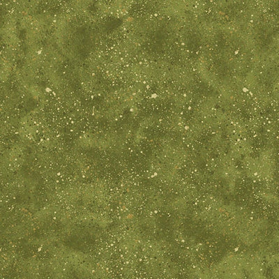 Essentials Green Spatter Wilmington Prints Fabric #5301 - Quilting & Sewing Fabric