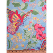 Fairlyte Garden Butterfly Carnival Floral Melissa White Rowan Fabric #740 - Quilting & Sewing Fabric