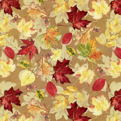 Farmers Market Packed Fall Leaves Spectrix #4460 - Quilting & Sewing Fabric
