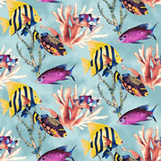Fish & Coral Reef Ocean Sea Nautical Cotton Windham Fabrics #7172 - Quilting & Sewing Fabric