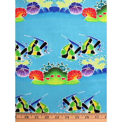 Fish Tank Water Stripe Lago Blue DC5446 Michael Miller #1919 - Quilting & Sewing Fabric
