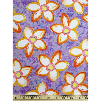 Floral Colors of the Wind George Mendoza Free Spirit Fabrics #608 - Quilting & Sewing Fabric