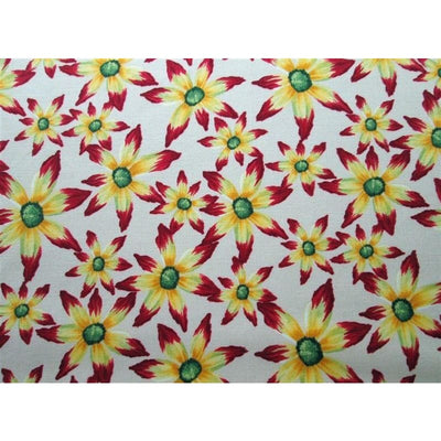 Free Spirit Glorious Garden Brilliant Morning Daisies Floral #587 - Quilting & Sewing Fabric