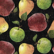 From the Market Fruit Black Wilmington Prints #3100 - Quilting & Sewing Fabric