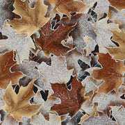 Frosted Fall Packed Leaves Amber Hoffman Fabrics #7047 - Quilting & Sewing Fabric
