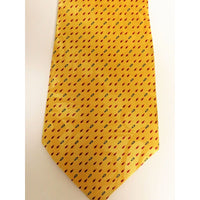 Gospitality Religious Mens Neckties Tiny Fish Gold Polyester #5481 - Apparel