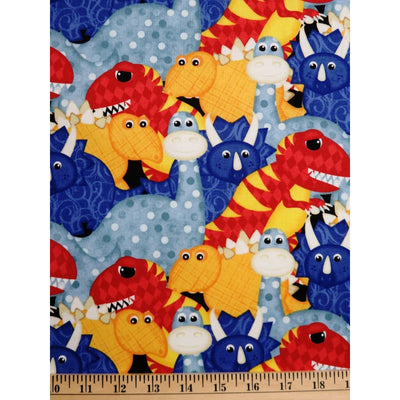 Have you Seen My Dinosaur Dino Wilmington Prints #2268 - Quilting & Sewing Fabric