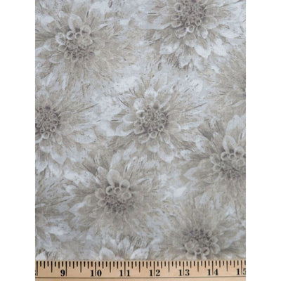 Hello Dahlia Natural Floral Texture Blender Wilmington Prints #1984 - Quilting & Sewing Fabric