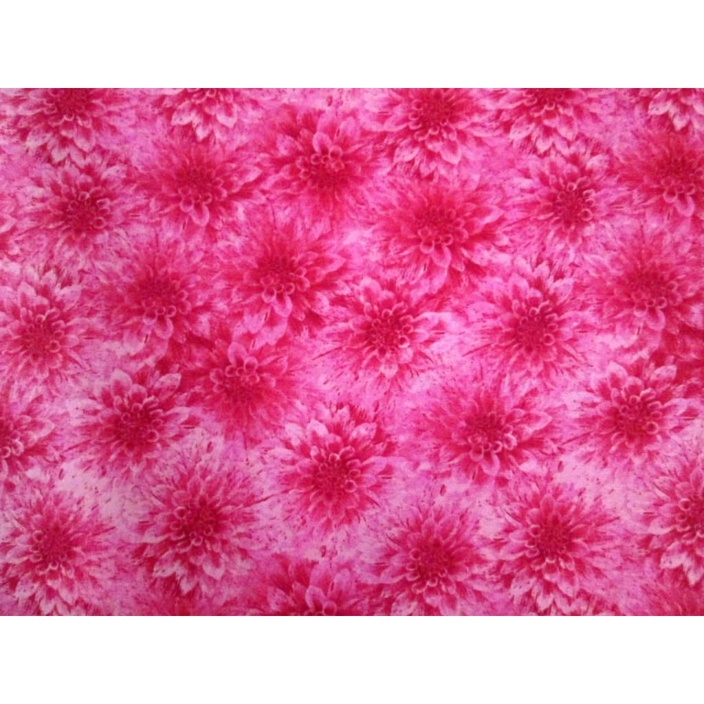 Hello Dahlia Pink Floral Texture Blender Wilmington Prints #1985 - Quilting & Sewing Fabric