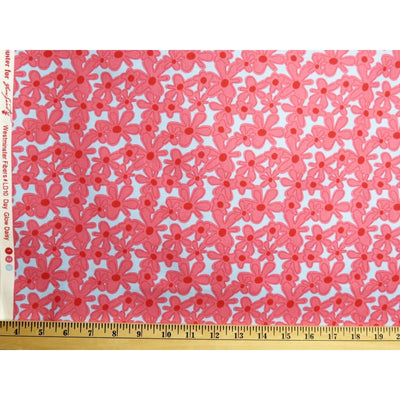 Hotflash Day Glow Daisy Fuchsia Daisies Floral #727 - Quilting & Sewing Fabric