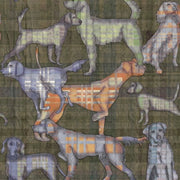 Hunt Club Hunting Dogs Sports Clothworks Fabric #4091 - Quilting & Sewing Fabric
