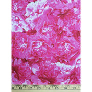 Indiana Peony Floral Vignettes Blender Pink Paintbrush Studio Fabrics #826 - Quilting & Sewing Fabric