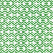 Kelly Green Metro Living Ogee Robert Kaufman Fabrics #5228 - Quilting & Sewing Fabric