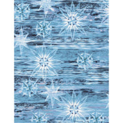 Landscape Blue Shimmering Water Dark Nature Outdoors Timeless Treasures #5265 - Quilting & Sewing Fabric