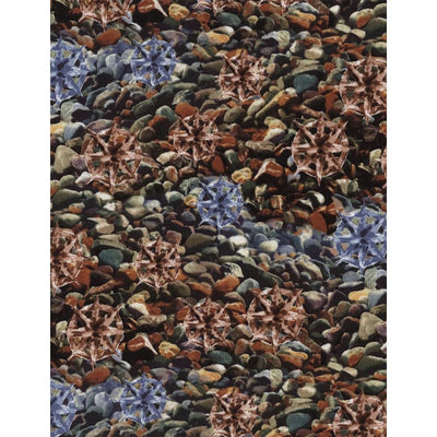 Landscape Pebbles Stones & Rocks Timeless Treasures #5260 - Quilting & Sewing Fabric