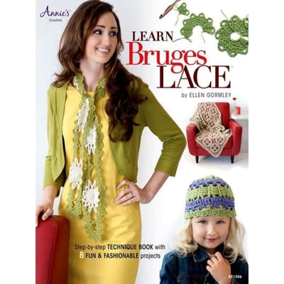Learn Bruges Lace Crochet Annies Craft Store #4351 - Books & CDs