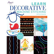 Learn Decorative Machine Stitching Softcover Annies #4345 - Books & CDs