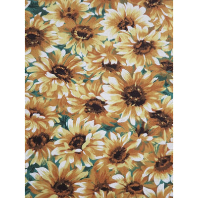 Little Sunflowers Floral Cotton Michael Miller Fabrics #6033 - Quilting & Sewing Fabric