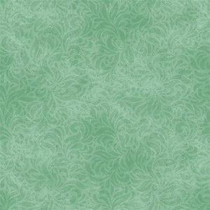 Mint Flourish Bella Suede Basics P&B Textiles #4866 - Quilting & Sewing Fabric