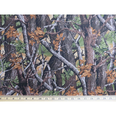 Multi Woodland Camouflage Trees & Leaves Windham Fabrics #7049 - Quilting & Sewing Fabric