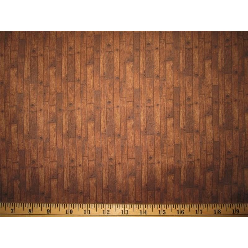 Natural Elements 5 Landscape Wood Dark Brown Fresh Water Designs #2467 - Quilting & Sewing Fabric