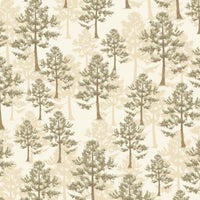 Northwoods Trees Nature Outdoors Windham Fabrics #6052 - Quilting & Sewing Fabric
