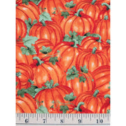 Packed Pumpkins Burnt Colors of Fall Harvest Wilmington Prints #7691 - Quilting & Sewing Fabric