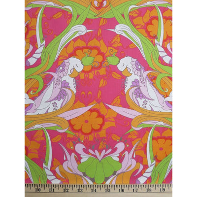 Pernillas Journey Parrots Jungle Tina Givens TG94 Watermelon #660 - Quilting & Sewing Fabric