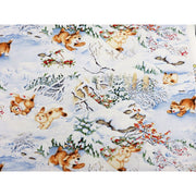 Quiet Bunny and Noisy Puppy Puppies & Bunnies Wilmington Prints #4709 - Quilting & Sewing Fabric