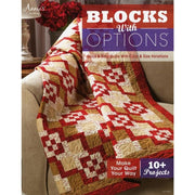 Quilting Blocks With Options - Softcover Book -10 PROJECTS #4962 - Books & CDs