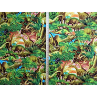 Realistic Dinosaurs Timeless Treasures #2868 - Quilting & Sewing Fabric