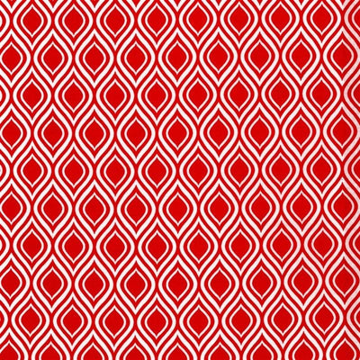 Red Metro Living Ogee Robert Kaufman Fabrics #5229 - Quilting & Sewing Fabric