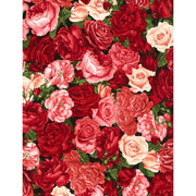 Rose Garden Packed Roses Timeless Treasures #7768 - Quilting & Sewing Fabric