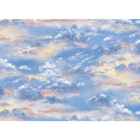 Sea Quilts Landscape Medley Nature / Outdoors Sky Elizabeths Studio #3281 - Quilting & Sewing Fabric