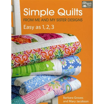 Simple Quilts from Me and My Sister Designs Easy as 1 2 3 - Softcover #4040 - Books & CDs