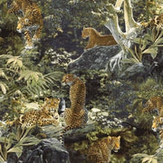 Skins Return to the Wild Cougar Cat Wildlife Animal Windham Fabrics #2994 - Quilting & Sewing Fabric
