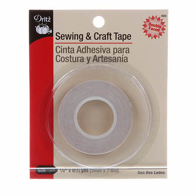 Dritz  Sewing & Craft Tape Double Faced Basting 1/8in x 8-1/3yds #5291