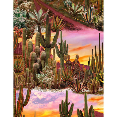 Southwest Cactus Desert Sky Scenic Timeless Treasures #7851 - Quilting & Sewing Fabric