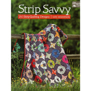 Strip Savvy 2 1/2-Strip Quilting Designs - Softcover #4043 - Books & CDs