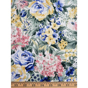 The Garden Twist Packed Floral Mixed Flowers In the Beginning Fabrics #1293 - Quilting & Sewing Fabric