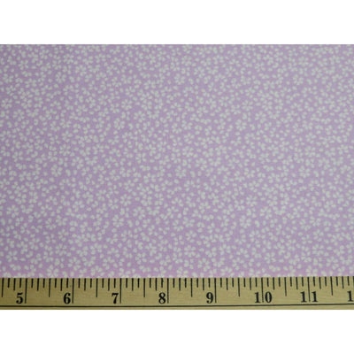Tiny Calico Floral Lilac Dear Stella Designs Fabrics #5118 - Quilting & Sewing Fabric