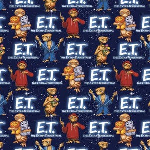 Universal E.T. with Animals Springs Creative Fabric #5462 - Quilting & Sewing Fabric