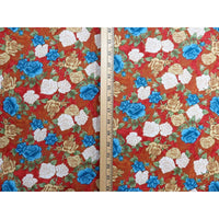 Victorian Dream Roses Brown Floral Quilting Treasures Fabric #1264 - Quilting & Sewing Fabric