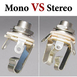 Mono vs Stereo Guitar Jacks, Iron Age Guitar Blog