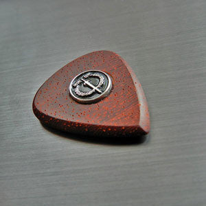 How to make a wooden guitar pick by Iron Age