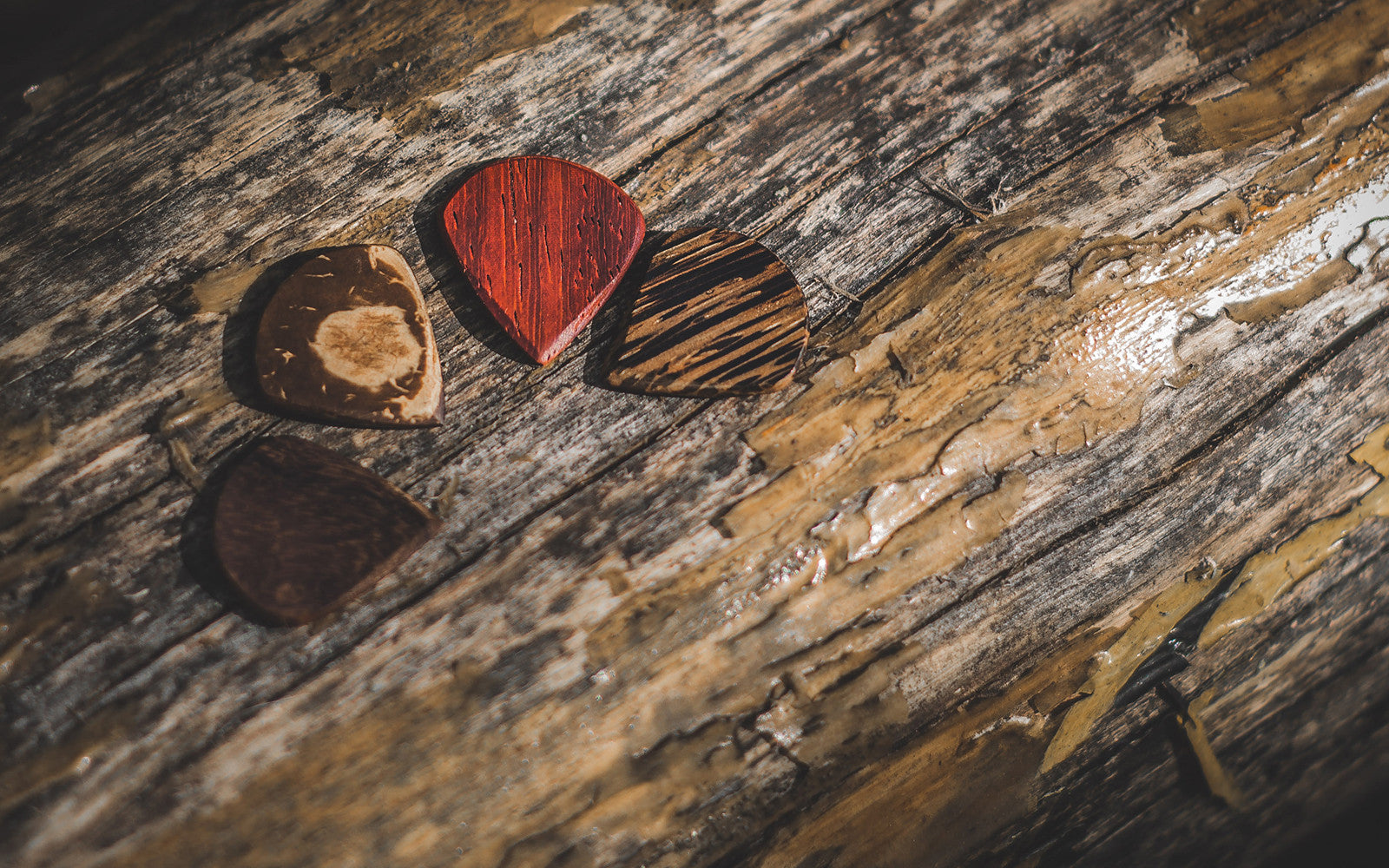 Exotic Wood Guitar Picks