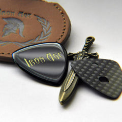 guitar pick thickness, agate stone guitar pick, carbon fiber graphite plectrum