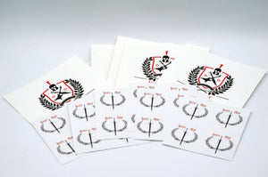Iron Age Logo Stickers