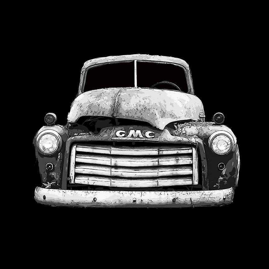 Askew - GMC Truck Portrait - Lisa Faire Graham Fine Art Photography - Pix Synergy LLC