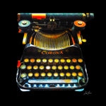 Corona Typewriter - Lisa Faire Graham Fine Art Photography - Pix Synergy LLC